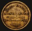 London Coins : A172 : Lot 803 : Advertising Token Charlie Chaplin 'The Goldrush' 1926 Manchester Gaiety Theatre, 26mm diam...