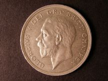 London Coins : A124 : Lot 229 : Crown 1934 ESC 374 and the key to the series EF and a prooflike strike