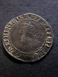 London Coins : A125 : Lot 718 : Elizabeth I Sixpence, 3rd & 4th issues, small flan, 1561, mint mark pheon. S.256...
