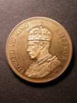 London Coins : A125 : Lot 923 : South Africa pattern 1937 crown Edward VIII having a crowned and robed ?bust with the legend 'Empero...