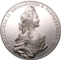 London Coins : A128 : Lot 2152 : Russia INA Retro Patterns Catherine II - The Great (1762-1796)  1762 - dated Medal or Pattern '...