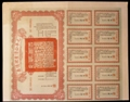 London Coins : A129 : Lot 21 : China, Consolidated Bonds of the First Year National Loan, 1921, bond No.1013 for 1,...