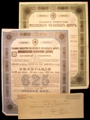London Coins : A129 : Lot 82 : Russia, Grand Russian Railway, 8 bonds, 1859 Loan, bond for 500 silver roubles, ...