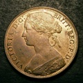 London Coins : A132 : Lot 1148 : Penny 1866 Freeman 52 dies 6+G UNC with around 65% lustre
