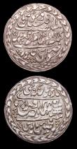 London Coins : A153 : Lot 1041 : Indian Princely States - Jaipur Nazarana Rupee (2) 1913 KM#147VF, 1939 KM#196 GVF