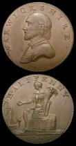 London Coins : A156 : Lot 825 : Halfpennies 18th Century Warwickshire (2) County 1791 Shakespeare/Female seated with cornucopia DH46...