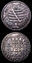 London Coins : A157 : Lot 1340 : Brazil 1699 issues 640, 320 and 160 Reis generally VF or near so