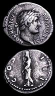 London Coins : A157 : Lot 1816 : Roman Imperial Antoninianus Florian (276AD) RCV3325ff VF and pleasing, Rare, Denarius Hadrian Rev. C...