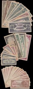 London Coins : A159 : Lot 1759 : Japanese Invasion Money Occupation WWII (50), Malaya (39), Burma (10) & Philippines (1), mixed c...