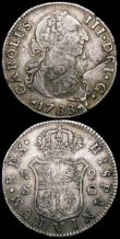 London Coins : A160 : Lot 3514 : World (3) Japan Bu (Ichibu) C#16a undated (1859-1868) VF, Azores 300 Reis, Countermarked on Spanish ...