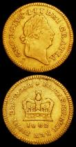 London Coins : A162 : Lot 1998 : Third Guineas (2) 1802 S.3740 About Fine with some thin scratches on the obverse, 1806 S.3740 About ...