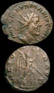 London Coins : A163 : Lot 218 : Roman (2) AE4 Hanniballianus (336-3387AD) Obverse Bust right, bare-headed, draped and cuirassed FL H...