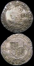 London Coins : A165 : Lot 2418 : Halfgroats (2) Charles II Third Hammered issue S.3326 mintmark Crown Fine, Commonwealth S.3221 Fine ...