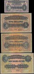 London Coins : A167 : Lot 1474 : East Africa Currency Board (4) a fine early collection of Scarce issues in about VF-VF to EF-GEF com...