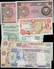 London Coins : A168 : Lot 135 : Cyprus 1960's to modern (12) in various grades VF to about UNC comprising 1 Pound Arms issue Pi...