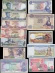 London Coins : A168 : Lot 98 : Africa & African Isles circa 1960's to modern (12) including QE2 Annigoni's portrait a...