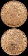 London Coins : A169 : Lot 1697 : Penny 1902 Low Tide Freeman 156 dies 1+A UNC and lustrous with an old scratch on the reverse, Halfpe...