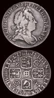 London Coins : A171 : Lot 1736 : Sixpences (2) 1717 Roses and Plumes ESC 1597, Bull 1609 About Fine/Fine an even and collectable exam...