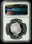 London Coins : A172 : Lot 268 : Five Pounds 2015 Winston Churchill Silver Proof FDC and graded PF70 ULTRA CAMEO by NGC and in their ...